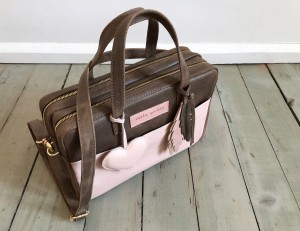 Torba Git Vintage Brown + Pale Pink Ready to Go!