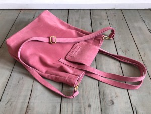 Mellow Bag Rose Suede
