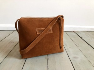 Mini Single Hardy Brown Suede
