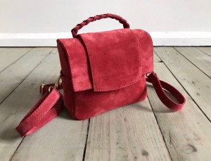 Mini Classic Clap Bag Suede