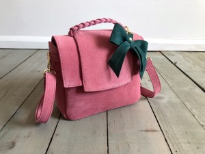 Mini Classic Clap Bag Suede Rose Suede Ready to Go!