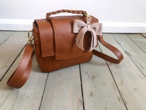 Mini Classic Clap Bag  Ranch Brown Ready to Go!