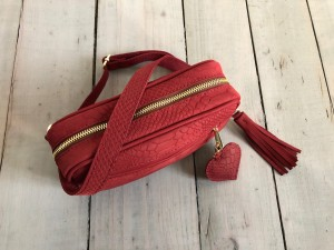 Nerka Maroon Nubuck Croco Ready to Go!