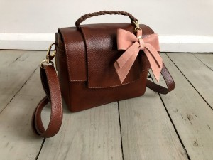 Mini Classic Clap Bag Mont Blanc Dark + Warm Suede Ready to Go!