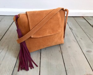 Mini Single Clap Deer Suede + Maroon Ready to Go!