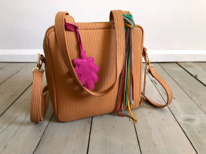 Lazy Braided Mini Square Bag Light Deer Nubuck Ready to Go!  II