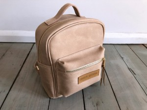 Mini BackPack Logo Vintage Nude