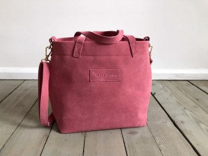 Nordic Basket Hardy Mini Rose Suede Plus