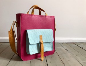 Perfect Vintage Fuchsia Mint + Caramel