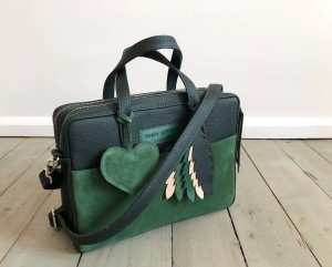 Torba Git Green + Heart + Feathers