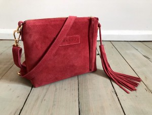 Mini Single Leather Bag PhoneBox Suede