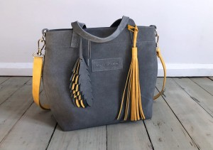 Nordic Basket Hardy Mini Grey Suede Single Plus