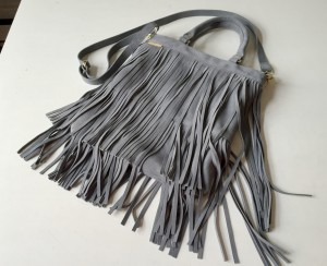 Pop Fringe Grey