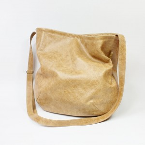 Little Long Hobo Sand Leather