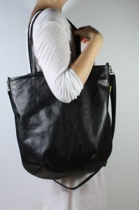 Mass Bag Leather Black