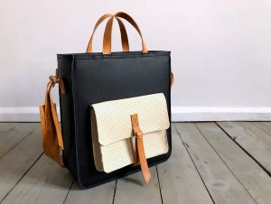 Perfect Vintage Black + Ecru + Caramel II
