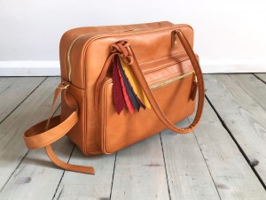 Comfy Leather Bag Caramel