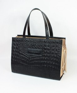 Triple Inside Bag Forfiter Black&Nude