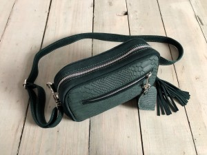 Nerka Dark Emerald Croco Nubuck Ready to Go!  II