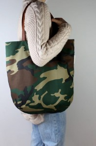 Mass Bag Canvas Moro + Leather