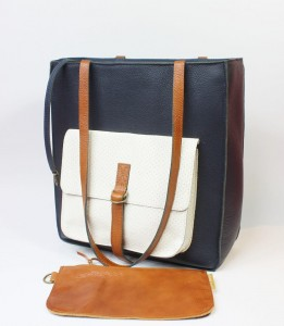 Perfect Vintage + Dark Navy Blue + Ecru + Caramel
