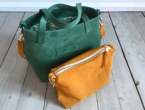 Nordic Basket Hardy Mini Green + Mustard Plus
