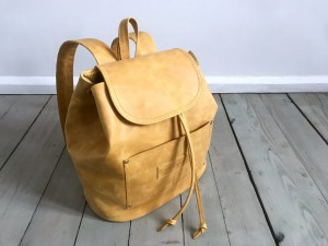BackPack Caramel Leather