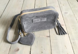 Nerkotorebka Mini Velour Grey Leather