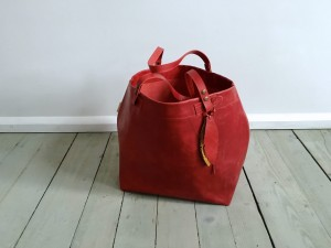 Nordic Basket Leather Maroon