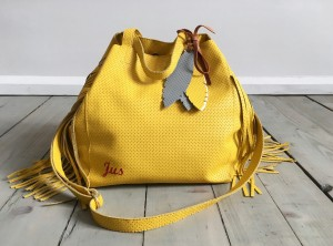 Nordic Sack Country Fringe Yellow +