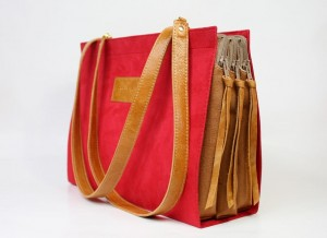 Triple Inside Bag Red