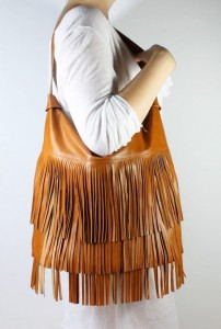 New Hobo Fringe Caramel