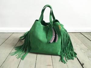 Nordic Sack Country Fringe Green +
