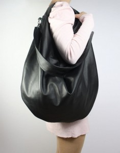 Hobo Black Leather