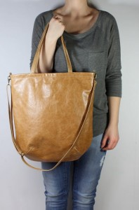 Mass Bag Leather Sand