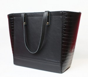 GlamBag Black Croco