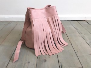 Bucket Wild Fringes Bag Skin