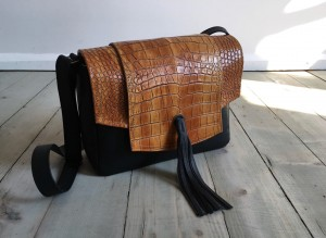 Fringe Your Mind Leather Croco